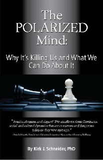 Book Cover for The Polarized Mind by Kirk Schneider, Phd