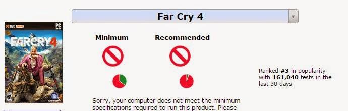 Cara Mengetahui Komputer/Laptop Kita Support Atau Tidak Dengan Game Pilihan