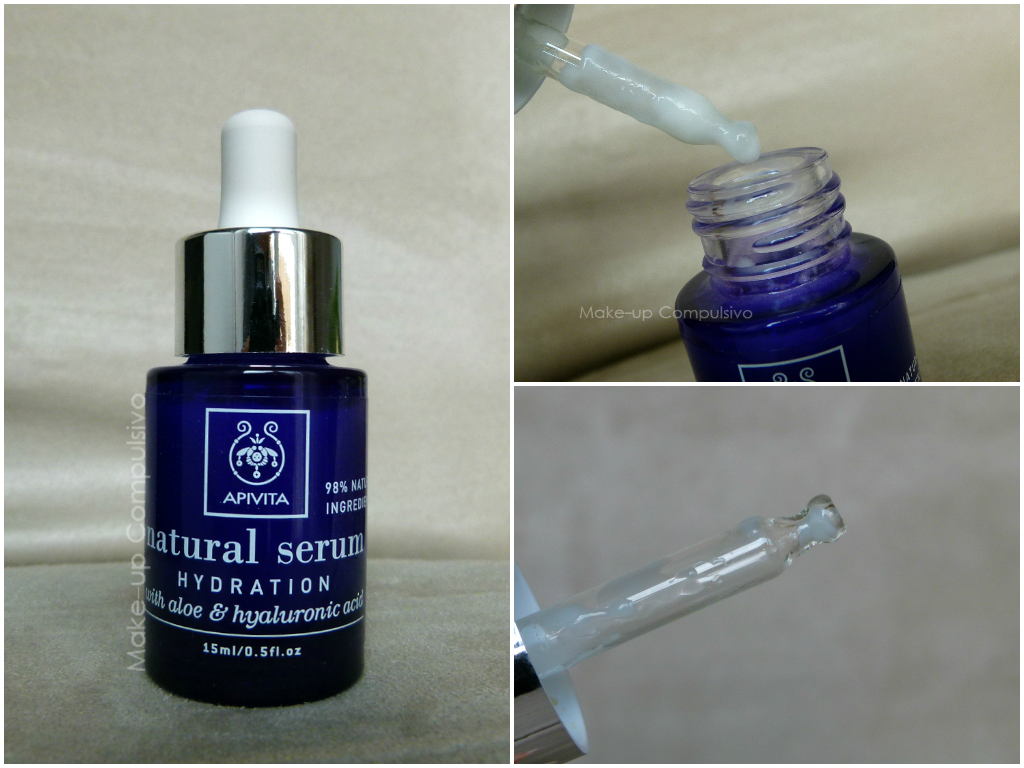 Apivita - Natural serum, Hydration with aloe and hyaluronic acid: review