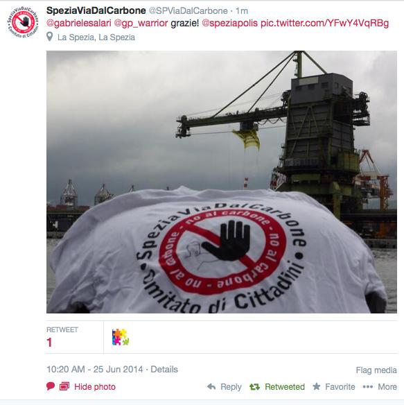 Rainbow Warrior I Ii Y Iii Greenpeace: SpeziaPolis: Giugno 2014