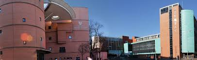 Dundee, UK, Abertay University, Bernard King Library