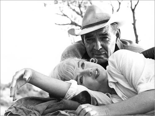 The Misfits with Marilyn Monroe