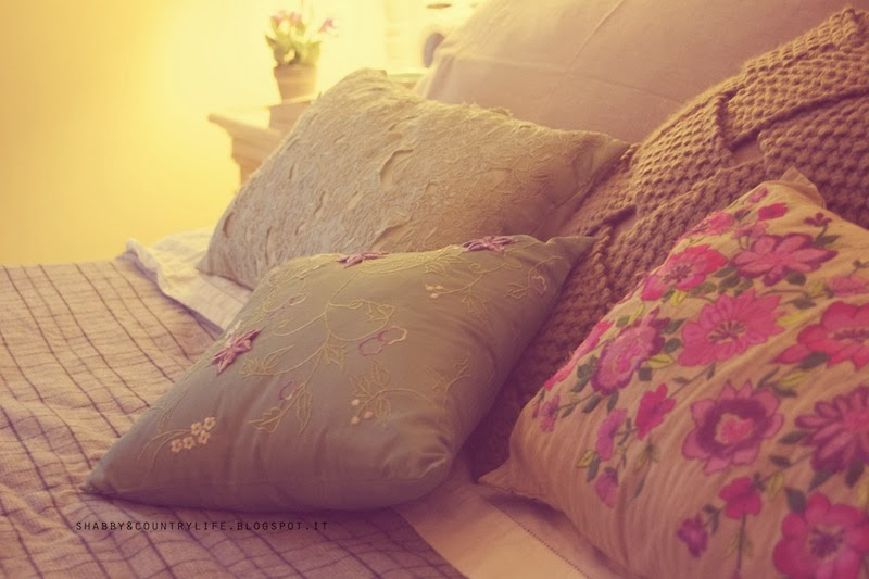 My bedroom - shabby&countrylife.blogspot.it