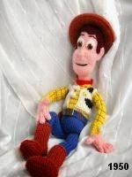 patron gratis muñeco woody toy story amigurumi de punto, free knit amigurumi pattern woody toy story
