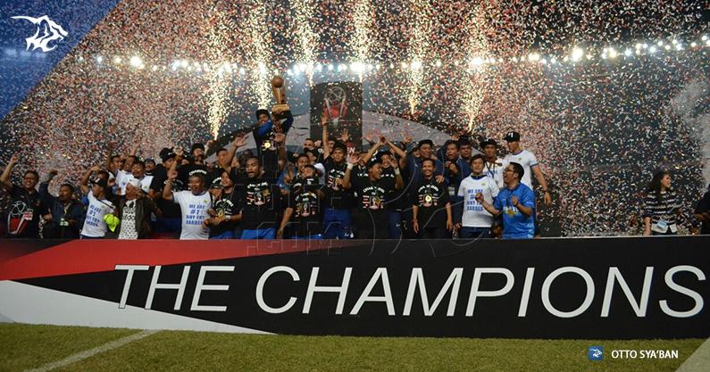 Perayaan Final Piala Presiden 2015 Persib Bandung
