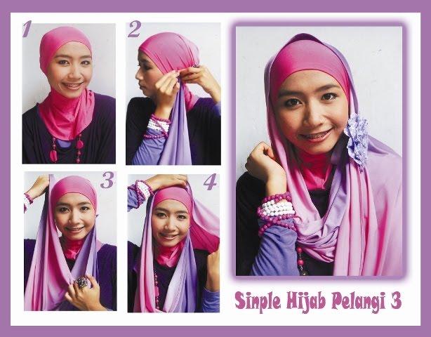 Simple Hijab Pelangi 3