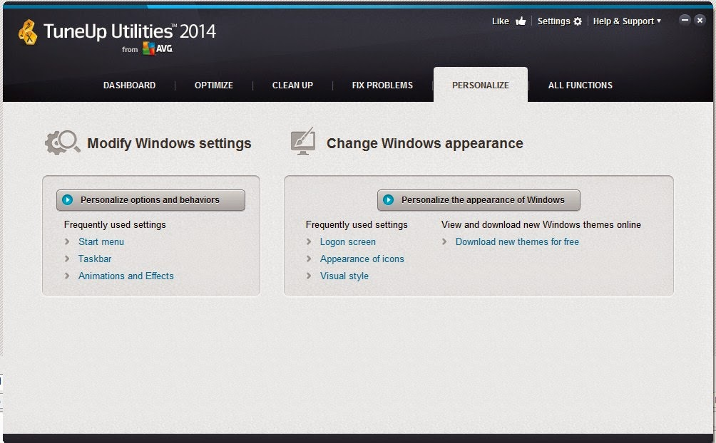Cara Mengubah Logon Screen Menggunakan TuneUp Utilities 2014