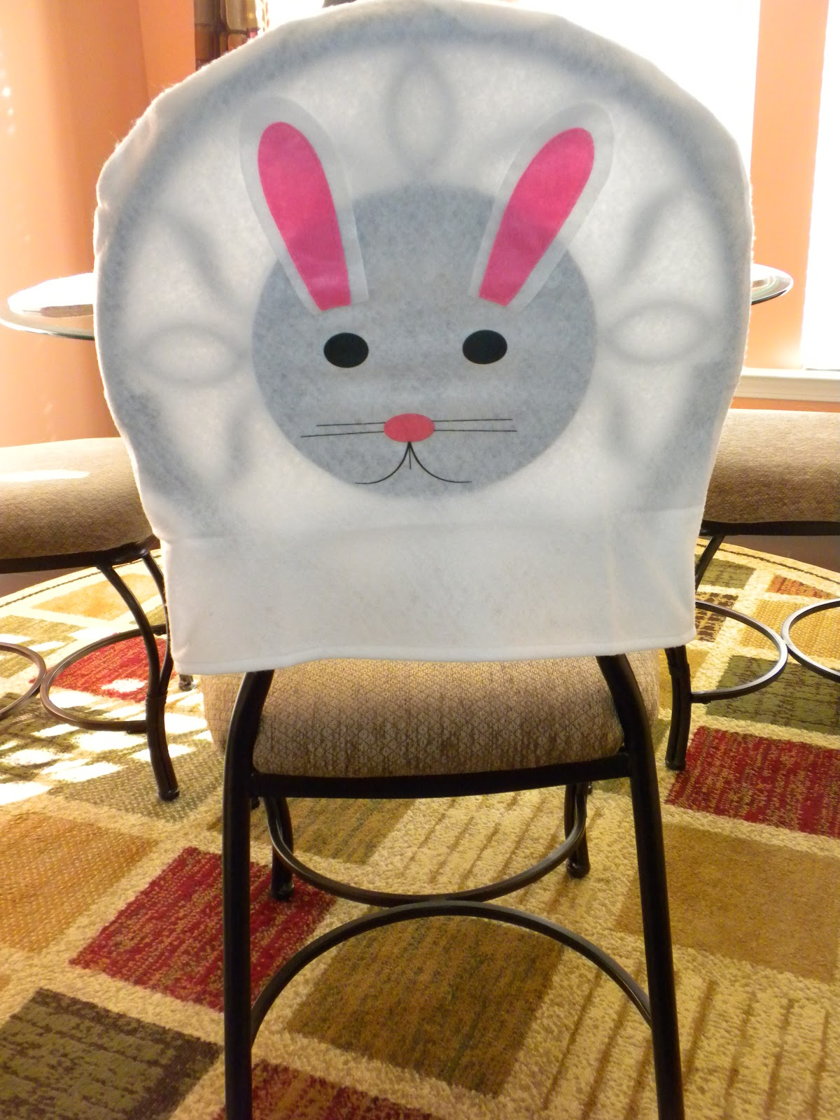 Easter Bunny Chair Cover - Substance of Living
