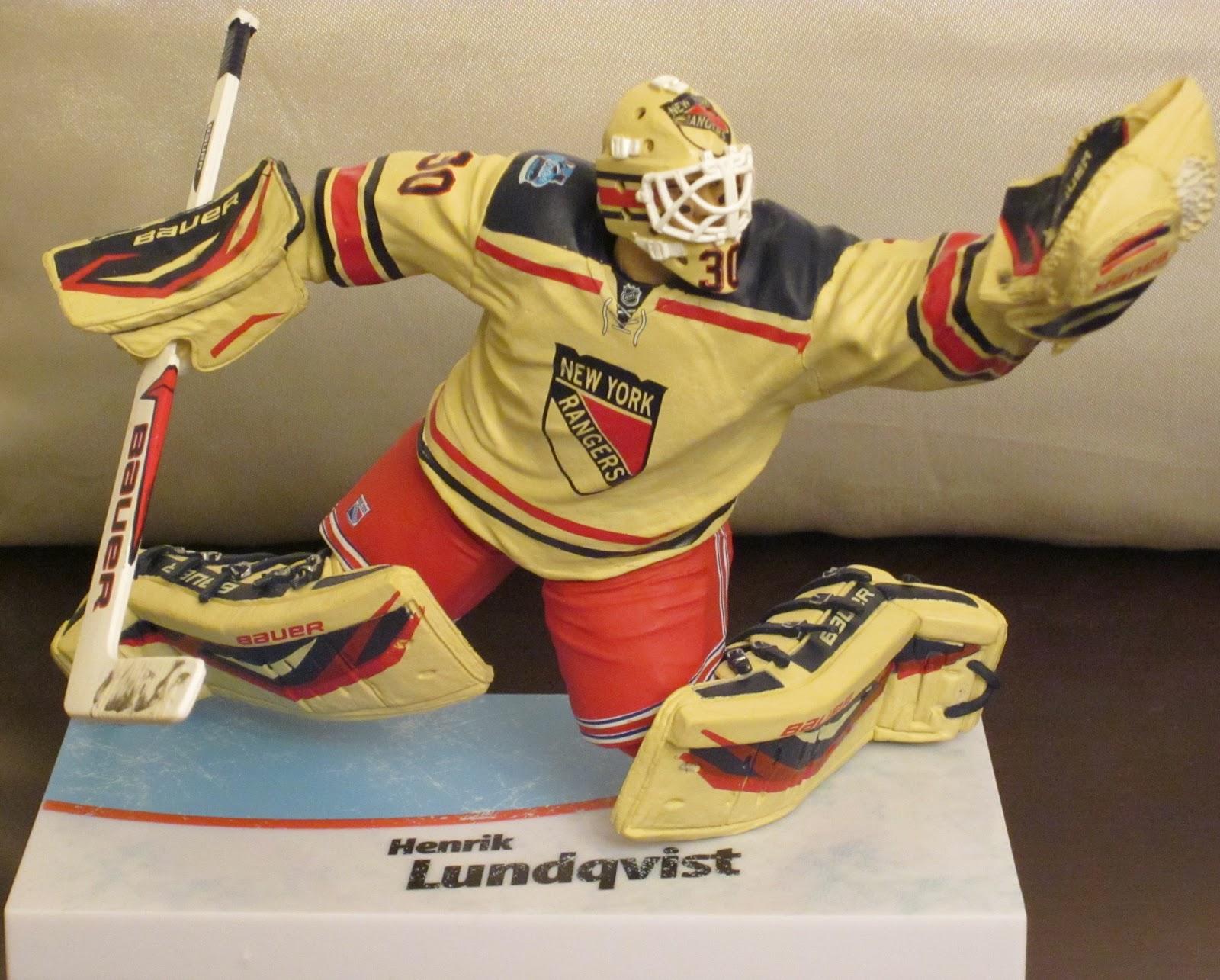 Toys Games Henrik Lundqvist White Jersey Mcfarlane Nhl Hockey 6