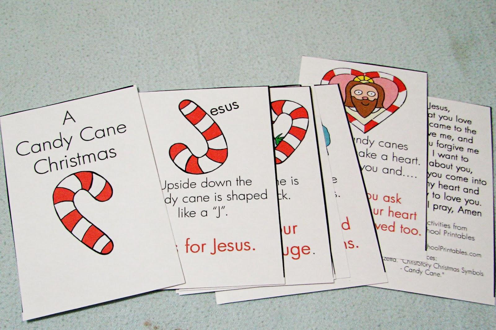 Candy cane preschool theme