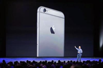 iPhone6發表現場。