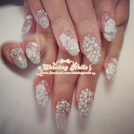 shiningnails-bridal-nailart