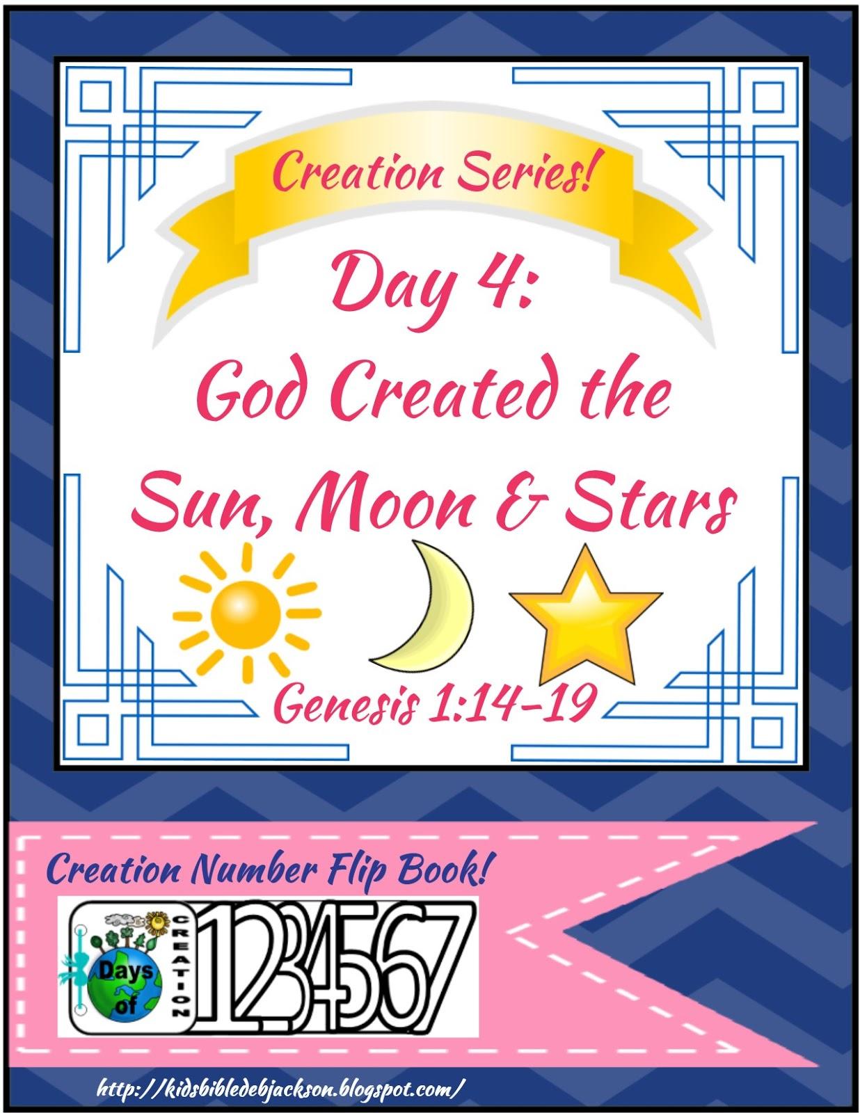 http://kidsbibledebjackson.blogspot.com/2015/01/the-creation-for-kids-day-4.html