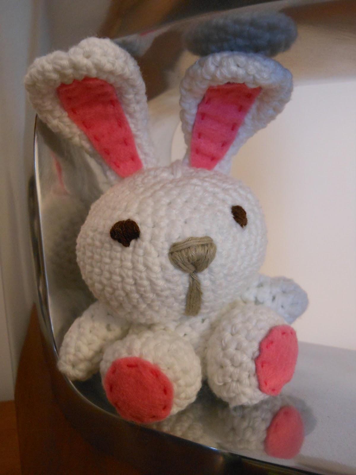 Amigurumi Conejo Kawaii : Amigurumi conejo alien slugom for