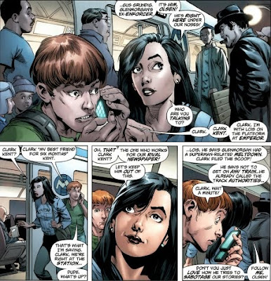 Lois Lane and Jimmy Olsen in Action Comics #1 from DC Comics