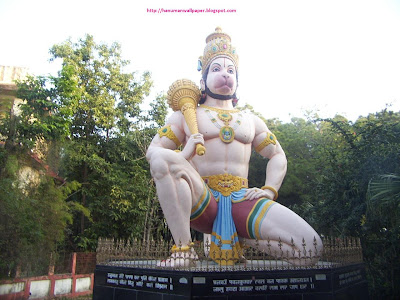 Hanuman photo at Chinmaya Tapovan Trust, Dharmashala