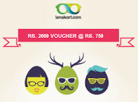 Groupon  : Rs. 1000 Lenskart Voucher Rs. 249, Rs. 2000 Lenskart voucher Rs. 749:buytoearn