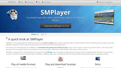 SMPlayer, Audio and Video Player
