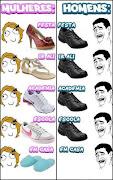 Homem e Mulher: Calçados. segundafeira, 12 de março de 2012