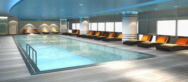 Bể bơi trong nhà của Eco Green City