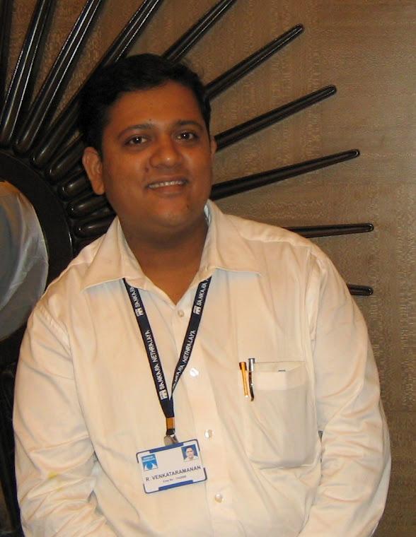 R Venkat's Blog