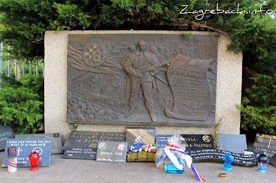 Spomenik navijačima Dinama - Velibor Mačukatin