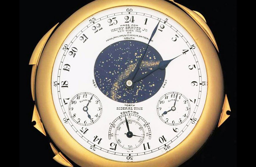 Perpetual Calendar Watch >> Auctions: Patek Philippe Henry Graves Supercomplication on ...