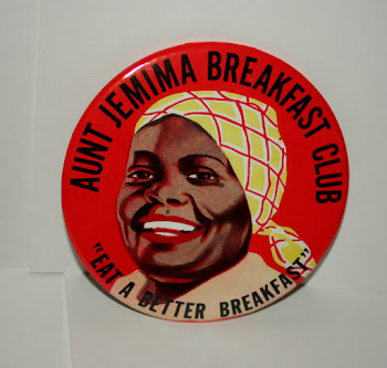 """Aunt Jemima Breakfast Club"" Button worn by Store Clerks 1950s $20"