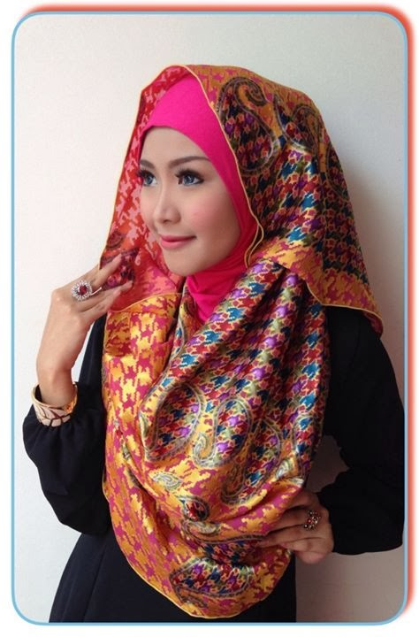 Pashmina instant instant brasso shawl inner awning d style hijab