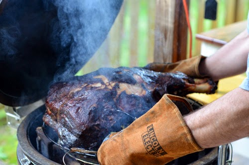bbq pork, smoked pork shoulder