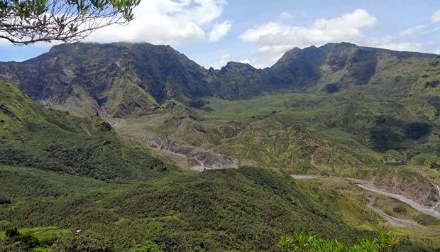 Lembah Ramma di kaki Gunung Bawakaraeng, Kecamatan Tinggimoncong, Kabupaten Gowa, Sulawesi Selatan.