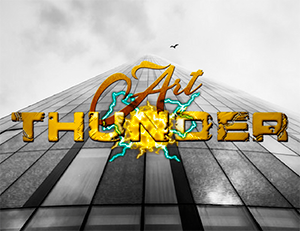 Arte do Blog por Art Thunder Design