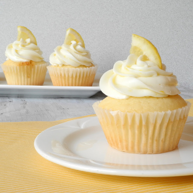 From Calculu∫ to Cupcake∫: Raspberry Filled Lemon Cupcakes