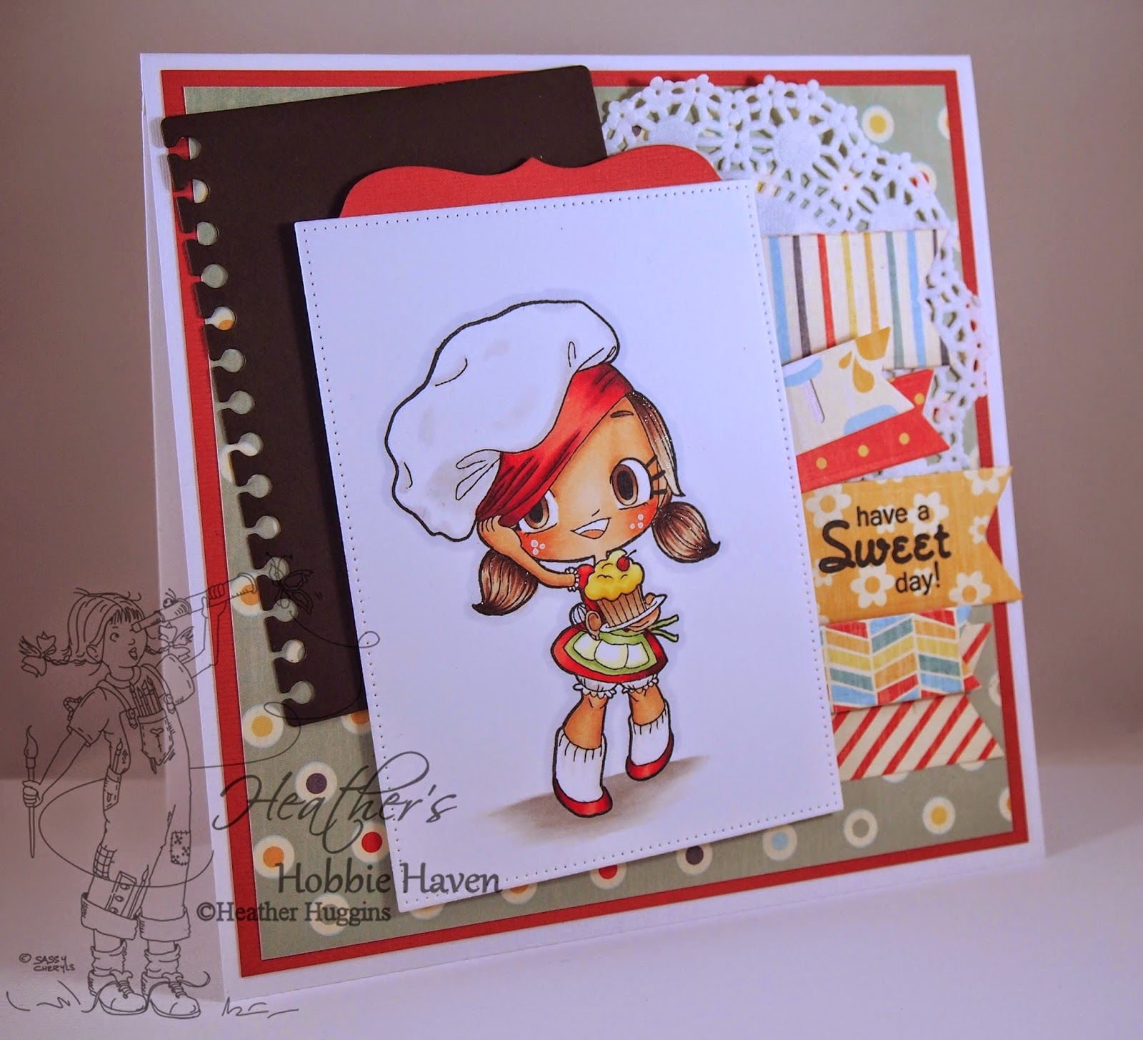 Heather's Hobbie Haven - Tiny Baker Tia Card Kit