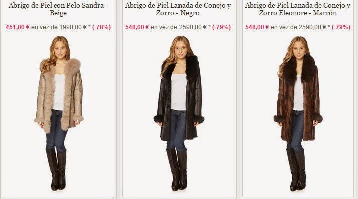 Tu abrigo de piel Giovanni te puede salir mucho más barato gracias a esta oferta