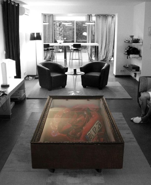 Studio casa mix mesa de centro de ferrari automobilismo for Viciados de mesa