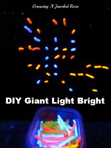 DIY giant light bright