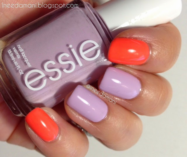 essie go ginza nail polish swatch review