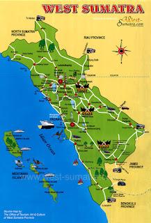 Peta Wisata Padang