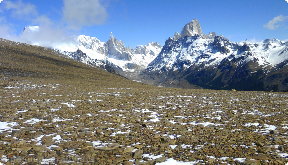 Cerro torre, mirador, chaltén,  patagonia , Pliegue Tumbado, Fitz Roy