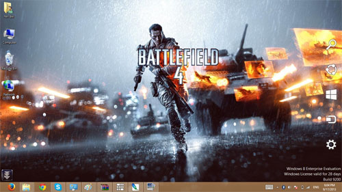 Battlefield 4 Theme For Windows 7 And 8 8.1