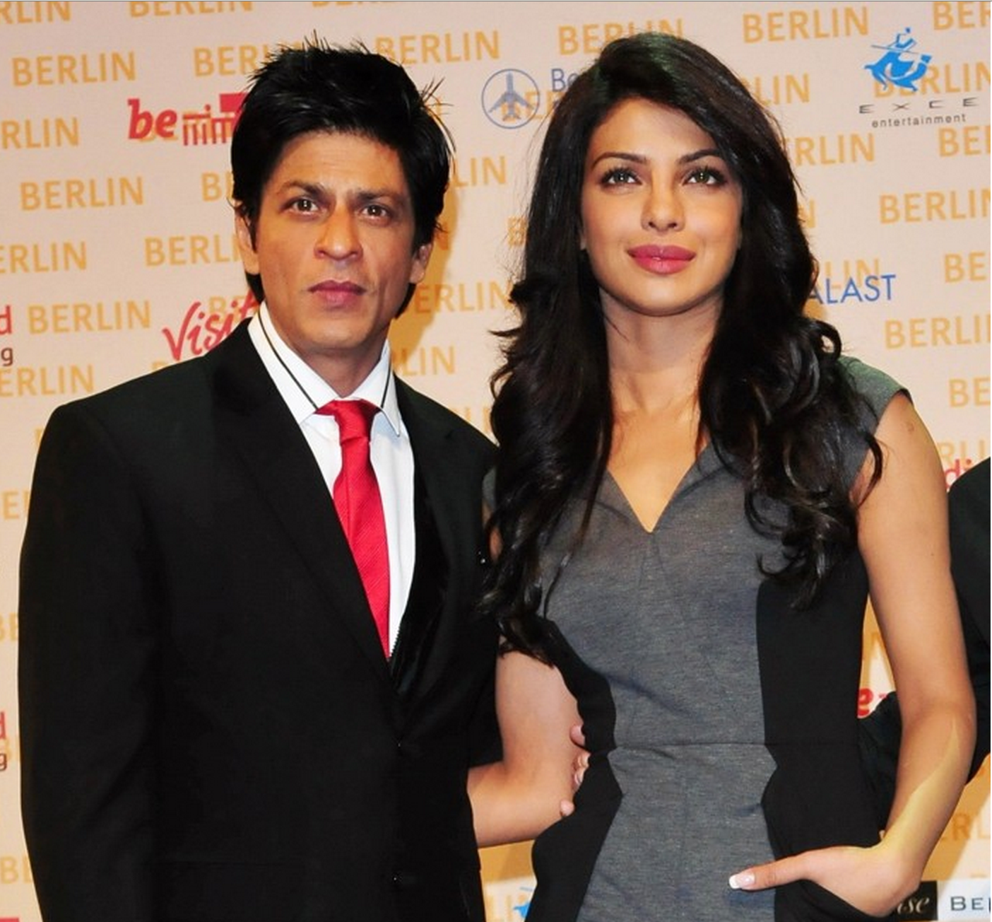 Shah Rukh Khan and Priyanka Chopra came together for Got Talent World Stage