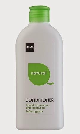 foto Hema Natural Conditioner met aloë vera en kokosolie