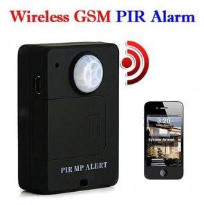 alarma GSM tarjeta SIM