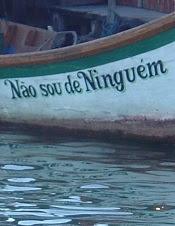 Não sou de Ninguém, in the São José do Norte harbour, 2008.
