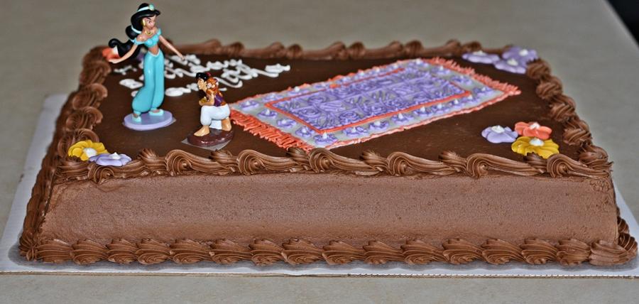 Aladdin Themed Birthday Cake