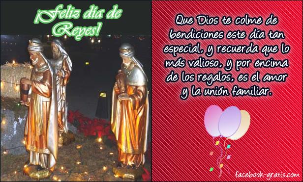 Día de Reyes con mensaje