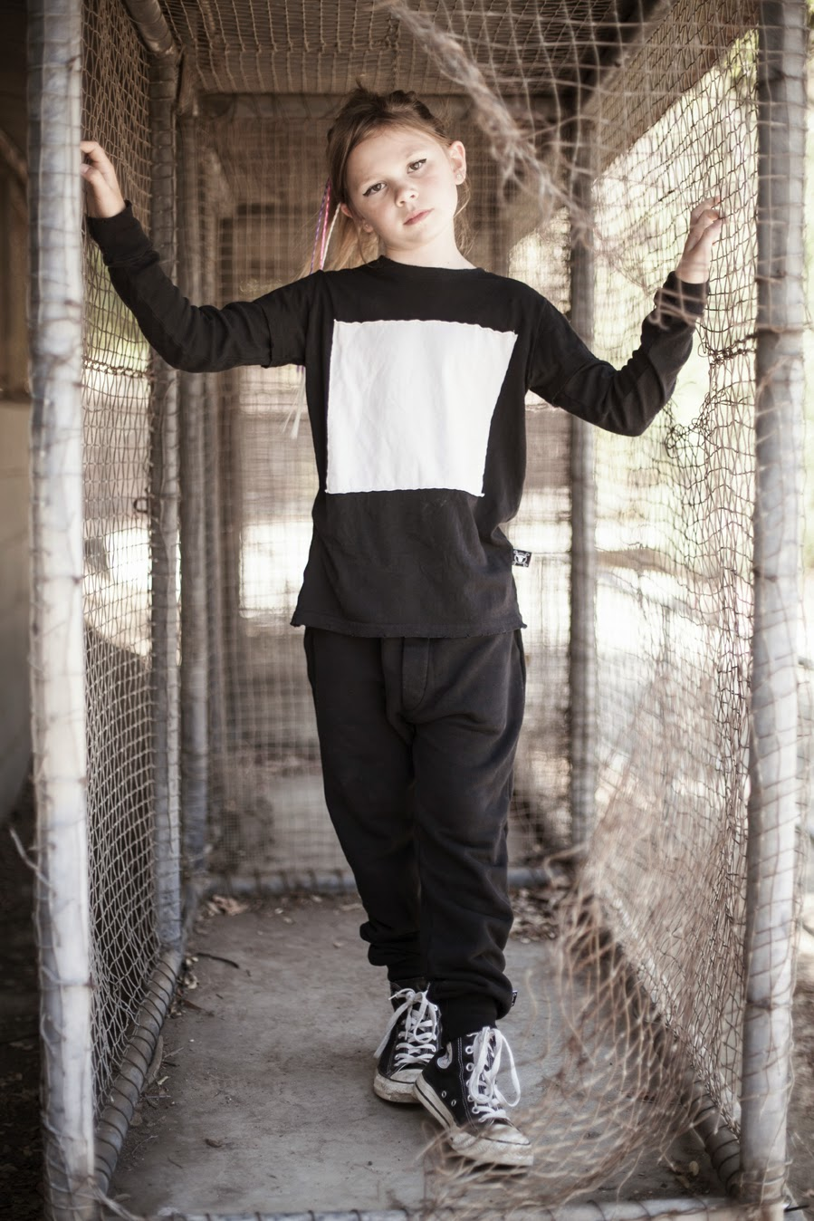 Kids gender-neutral style - Nununu AW14 editorial by Alexandra Cooper Photography