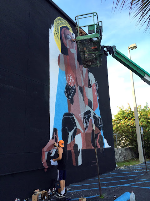 Street Art By British Duo BEST | EVER at Mana Wynwood in Miami For Art Basel 2013. 3