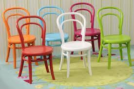 sillas de colores para tu café